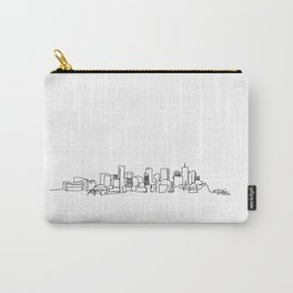Denver Skyline Drawing Carry-All Pouch