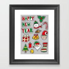 My Christmas Theme (: Framed Art Print