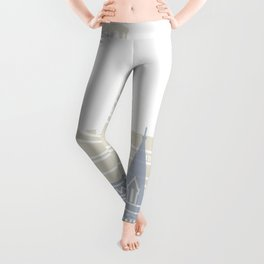 Harvard skyline poster Leggings