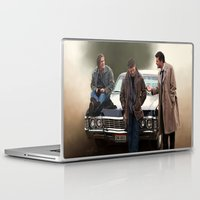 supernatural Laptop & iPad Skins featuring Supernatural by Artechniq