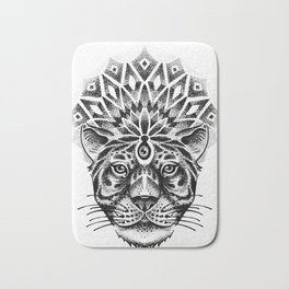 Trance tiger Bath Mat