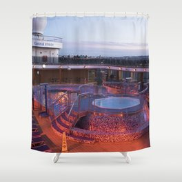 Bahamas Cruise Series 33 Shower Curtain