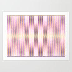 Eye line 3 Art Print