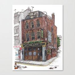 Lyric Pub, Soho Canvas Print