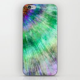 Tie Dye Watercolor Abstract iPhone Skin