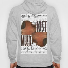 Lost music. Hoody