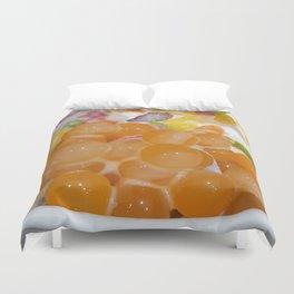 Fruiti Tuiti Rolled Ice Cream Duvet Cover