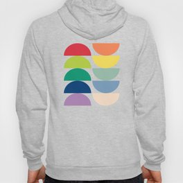 Abstract Flower Palettes Hoody