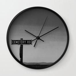 No One Cried Wall Clock