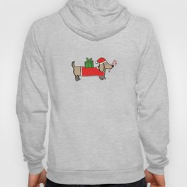 Christmas dachshund Hoody