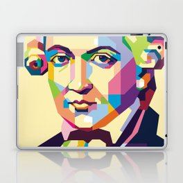 Immanuel Kant in Pop Art Laptop & iPad Skin