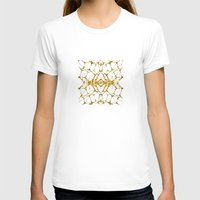 dna T-shirts featuring Gold DNA by kartalpaf