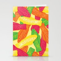 swedish Stationery Cards featuring Swedish Fish by Paper Bicycle