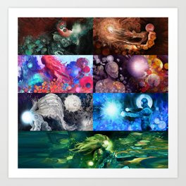 Holst's The Planets Art Print