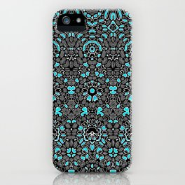 decorative pattern1 iPhone Case