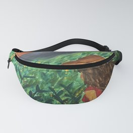Girl looking over the dreams Fanny Pack