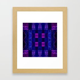 Quilt Square - MMB Framed Art Print