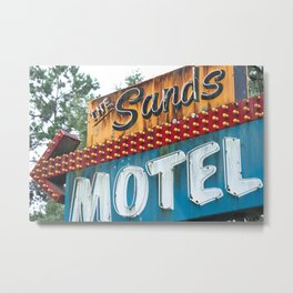 Sandy Shore Metal Print