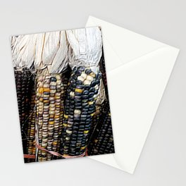Painted Corn Stationery Cards