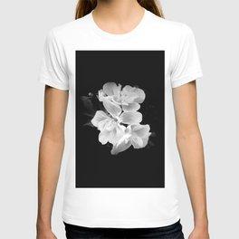 geranium in bw T-shirt