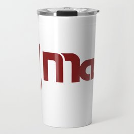 UMass Retro Logo Travel Mug