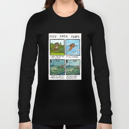Deep Dark Fears 131 Long Sleeve T-shirt