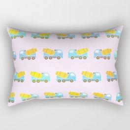 Toy truck pattern Rectangular Pillow