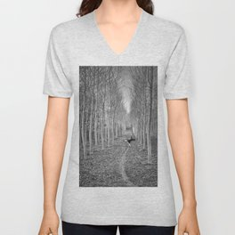Little Human Artwork - + Unisex V-Neck