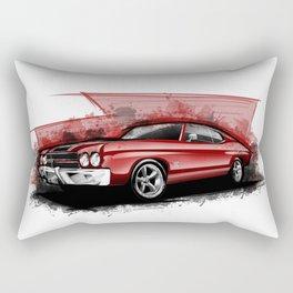 Chevy Chevelle SS 454 (Toreto's Bonus Car) Rectangular Pillow