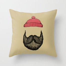 The Logger 2 Throw Pillow