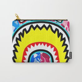 Camouflage with Shark Carry-All Pouch