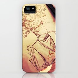 #SaveTheDay Sketches - The Era Eleven iPhone Case