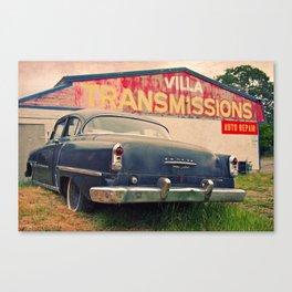 Villa Transmissions Canvas Print