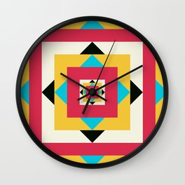 Natural birth of a Star Wall Clock