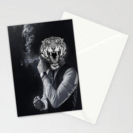 social tiger Stationery Cards