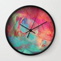 aurora Wall Clocks featuring AURORA by Adaralbion
