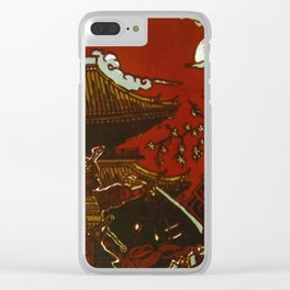 Essence: Samurai Clear iPhone Case