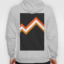 Athletic Retro Orange #kirovair #home #decor #retro #orange #gymwear #athletic #design Hoody