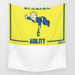 Agility S.P.E.C.I.A.L. Fallout 4 Wall Tapestry