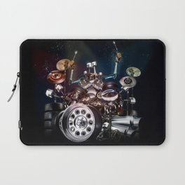 Drum Machine - The Band's Engine Laptop Sleeve