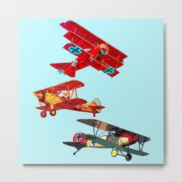 Airplanes Metal Print