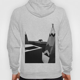 Cabins in BW Hoody