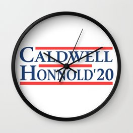 Caldwell Honnold 2020 Wall Clock
