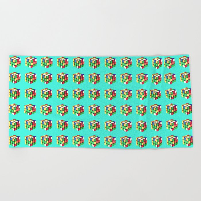 Do You Even Cube, Bro?  |  Rubik's Beach Towel