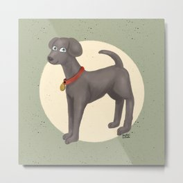 Cute Moony Metal Print