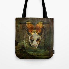 Surrealistic Venetian Mask Tote Bag