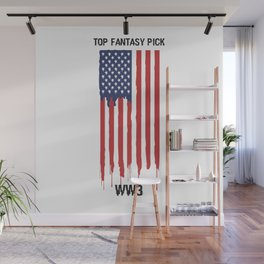 Top Fantasy Pick WW3 Wall Mural