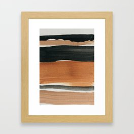 abstract minimal 12 Framed Art Print
