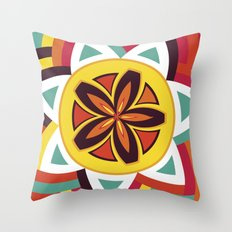 Mandala Love Pattern Throw Pillow