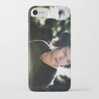 harry styles iPhone & iPod Cases featuring Harry Styles  by Becca / But-Like-How